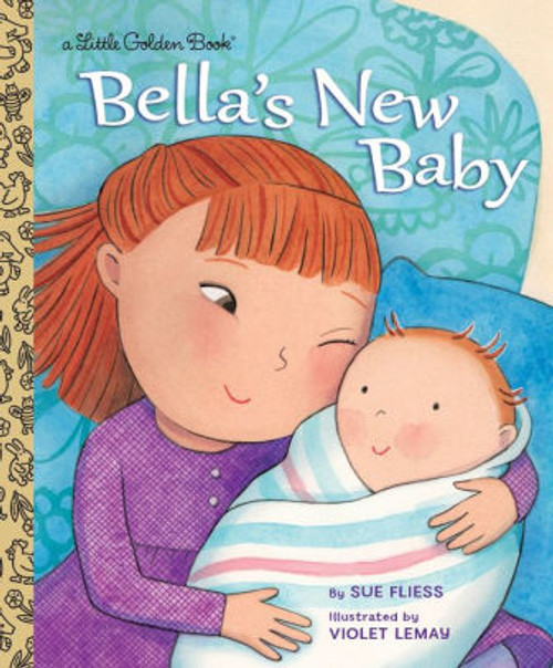 BELLAS NEW BABY LITTLE GOLDEN BOOK