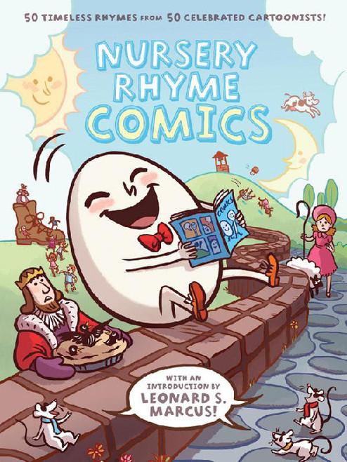 BEST NURSERY RHYME COMICS HC
