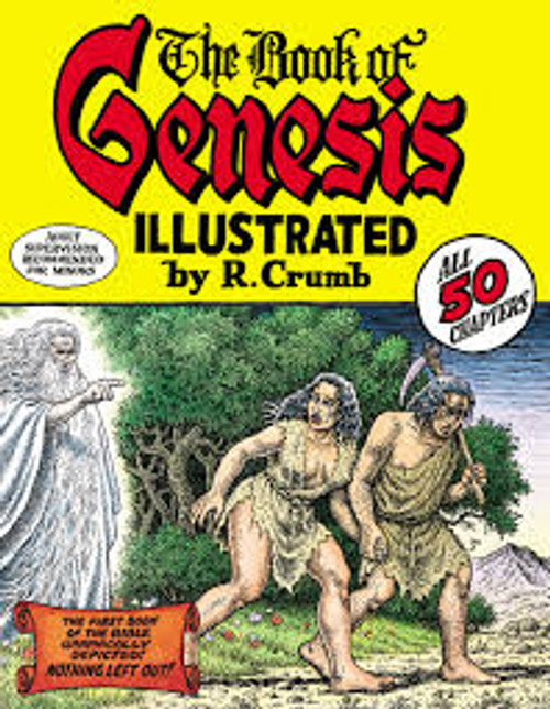 BOOK OF GENESIS R CRUMB HC