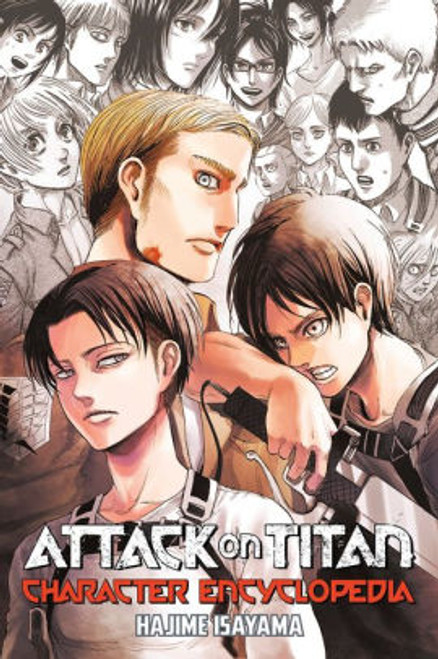 ATTACK ON TITAN CHARACTER GUIDE SC