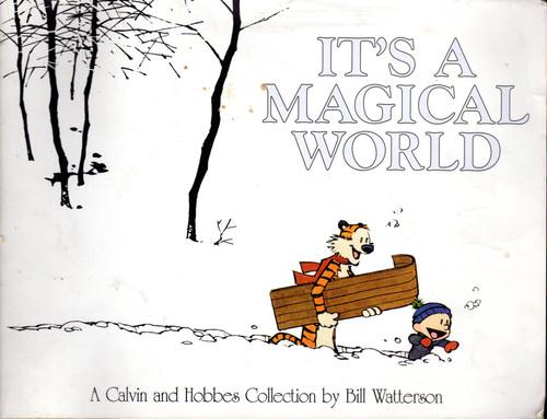 CALVIN & HOBBES ITS A MAGICAL WORLD SC