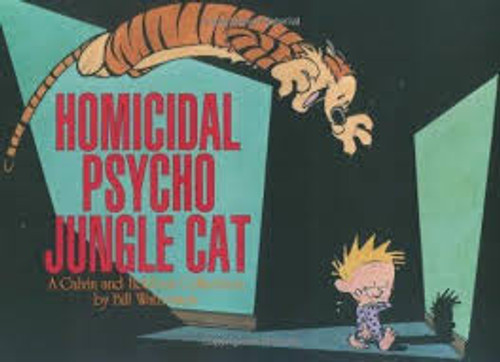 CALVIN & HOBBES HOMICIDAL PSYCHO JUNGLE CAT SC