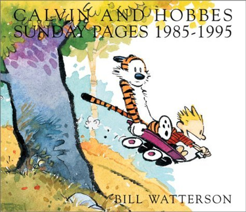 CALVIN & HOBBES SUNDAY PAGES 1985-1995 AN EXHIBITION CATALOGUE SC