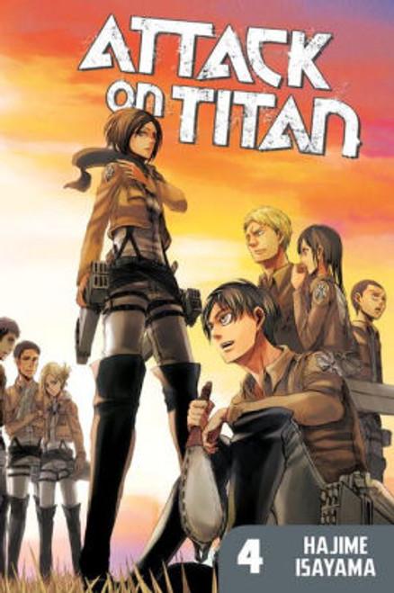 ATTACK ON TITAN VOL 04