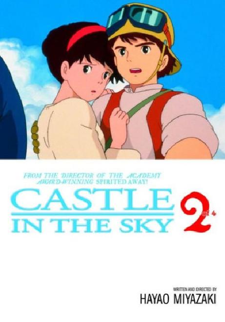 CASTLE IN THE SKY FILM COMIC VOL 2