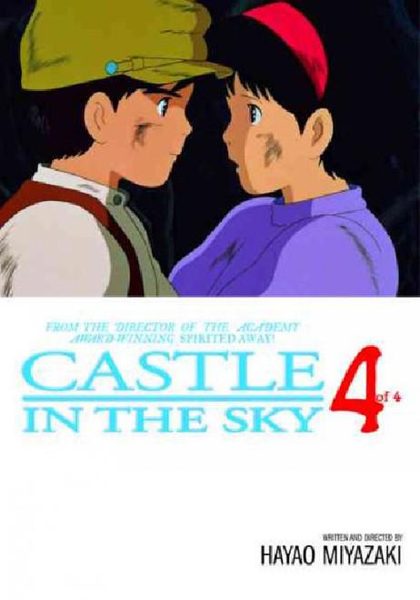CASTLE IN THE SKY FILM COMIC VOL 4
