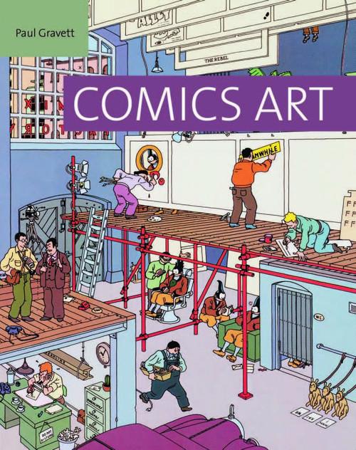 COMICS ART HC