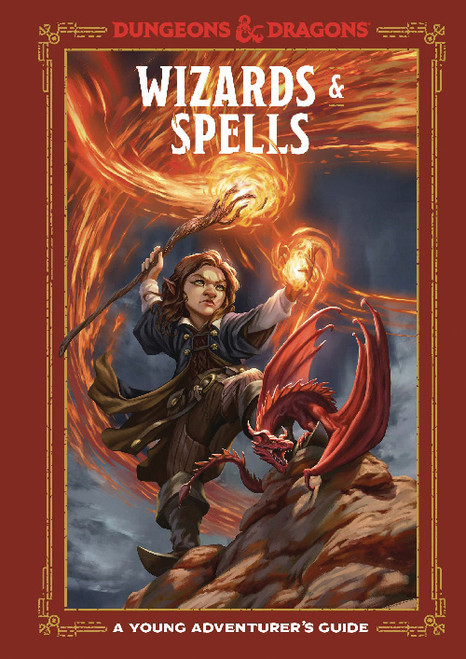 D&D WIZARDS AND SPELLS HC (YOUNG ADVENTURERS GUIDE)