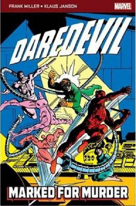 DAREDEVIL MARKED MURDER POCKETBOOK