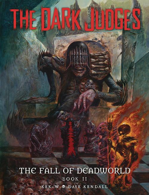 DARK JUDGES FALL OF DEADWORLD HC VOL 02