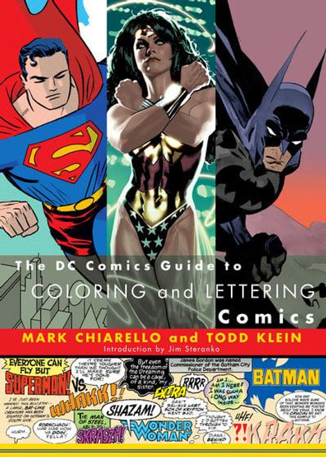 DC GUIDE COLOURING & LETTERING SC