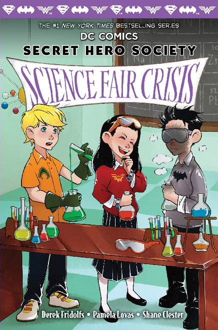 DC SECRET HERO SOCIETY HC VOL 03 SCIENCE FAIR CRISIS