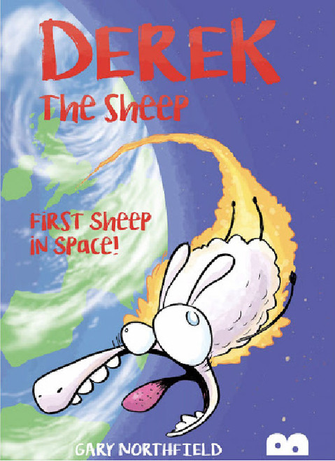 DEREK THE SHEEP FIRST SHEEP IN SPACE SC
