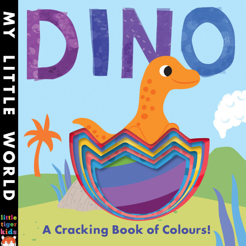 DINO CRACKING BOOK OF COLOURS BOARD