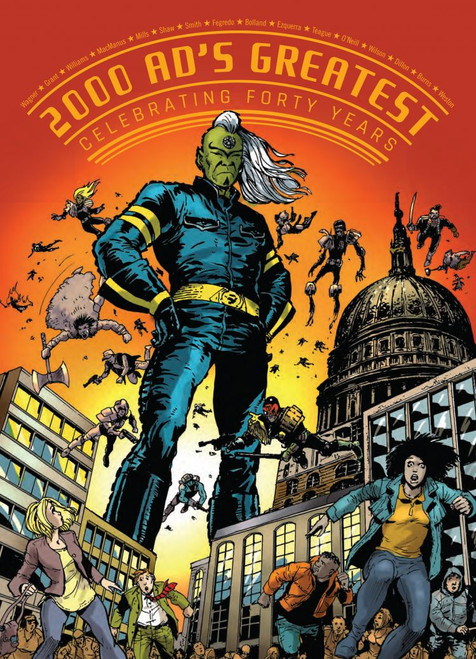 GALAXYS GREATEST CELEBRATING FOUR DECADES OF 2000AD TP