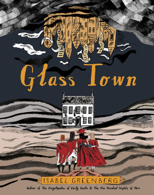 GLASS TOWN HC SIGNED BY ISABEL GREENBERG