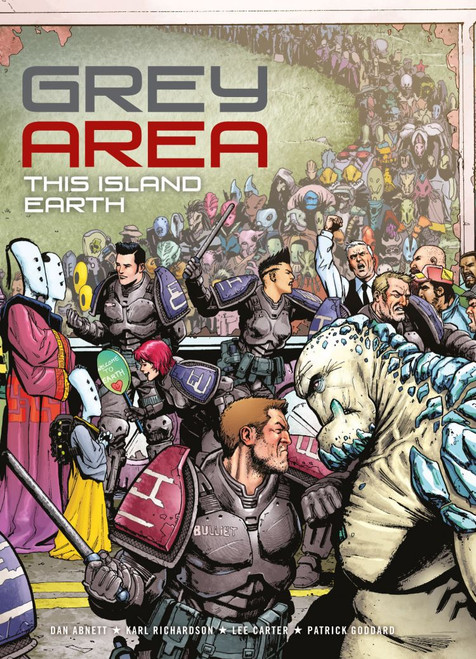 GREY AREA TP VOL 01 THIS ISLAND EARTH