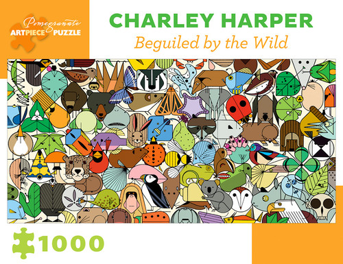 CHARLEY HARPER BEGUILED BY THE WILD 1000 PIECE PUZZLE