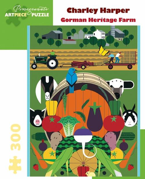 CHARLEY HARPER GORMAN HERITAGE FARM 300 PIECE PUZZLE
