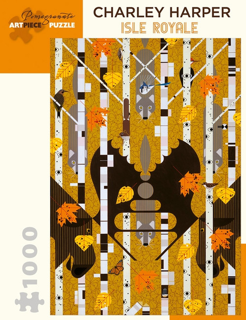 CHARLEY HARPER ISLE ROYALE 1000 PIECE PUZZLE