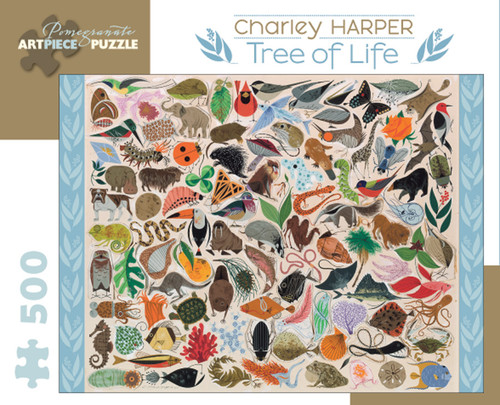 CHARLEY HARPER TREE OF LIFE 500 PIECE PUZZLE