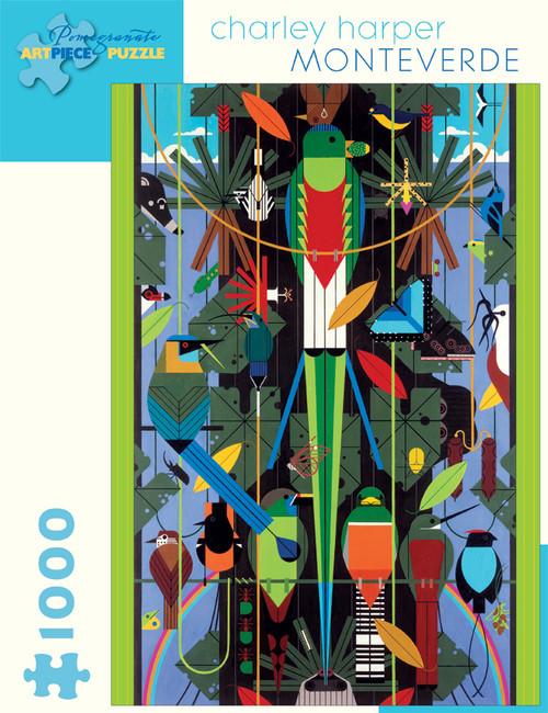 CHARLEY HARPER MONTEVERDE 1000 PIECE PUZZLE