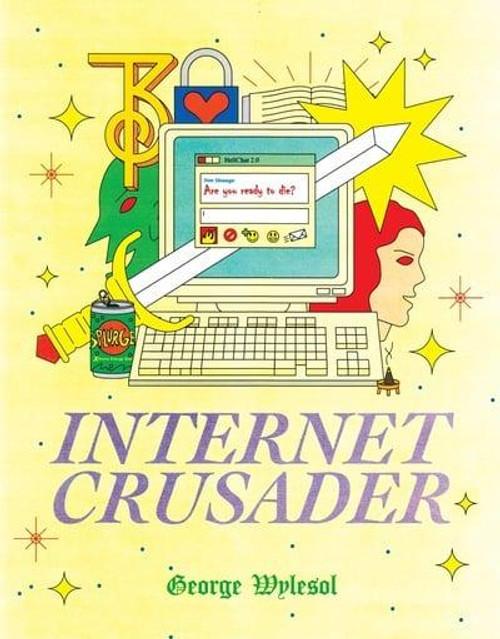 INTERNET CRUSADER SC BOOKPLATE EDITOON