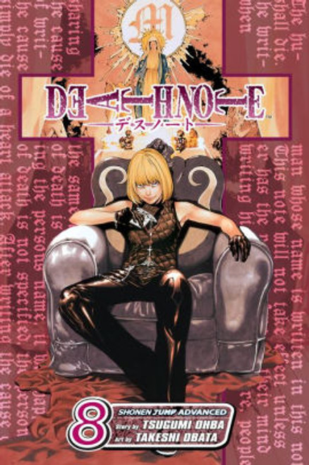 DEATH NOTE VOL 08