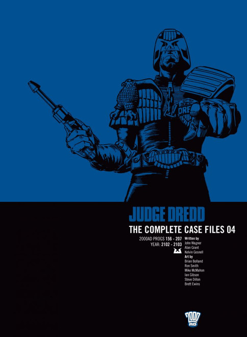 JUDGE DREDD COMPLETE CASE FILES TP VOL 04