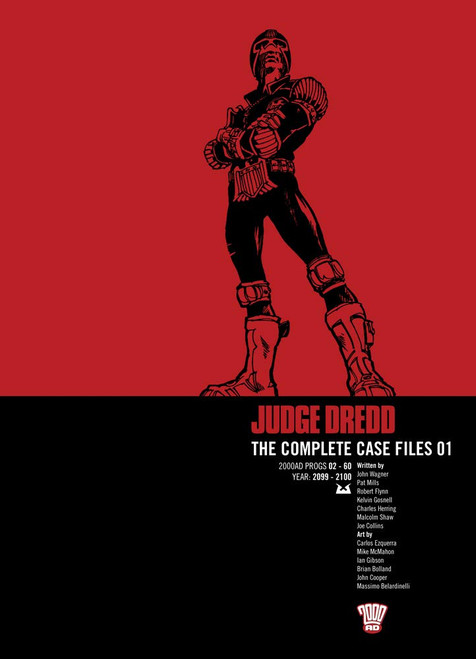 JUDGE DREDD COMPLETE CASE FILES TP VOL 01