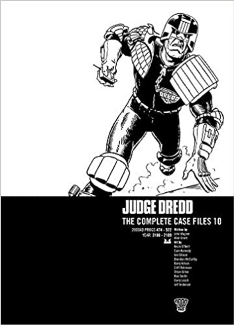 JUDGE DREDD COMPLETE CASE FILES TP VOL 10