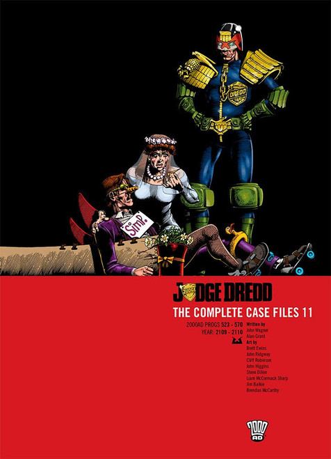 JUDGE DREDD COMPLETE CASE FILES TP VOL 11
