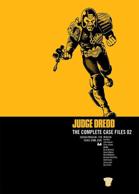 JUDGE DREDD COMPLETE CASE FILES TP VOL 02