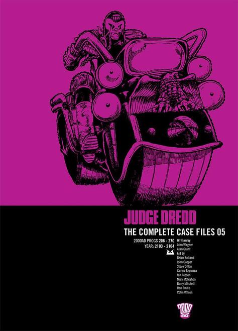 JUDGE DREDD COMPLETE CASE FILES TP VOL 05
