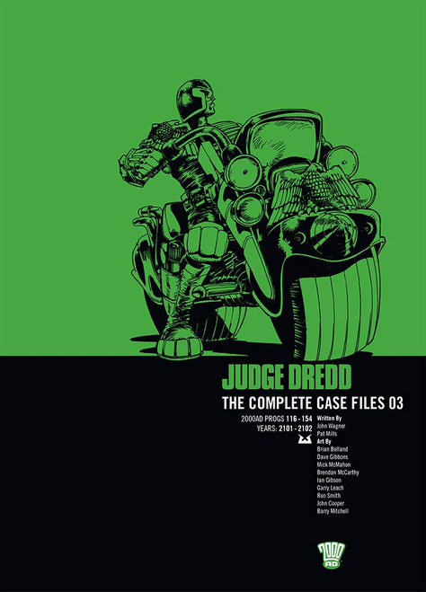 JUDGE DREDD COMPLETE CASE FILES TP VOL 03