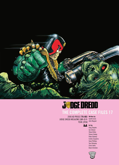 JUDGE DREDD COMPLETE CASE FILES TP VOL 17