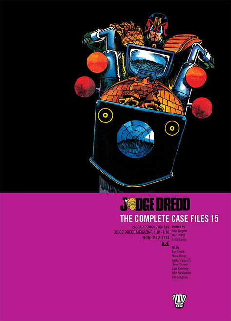 JUDGE DREDD COMPLETE CASE FILES TP VOL 15