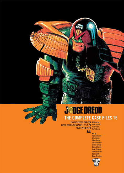 JUDGE DREDD COMPLETE CASE FILES TP VOL 16