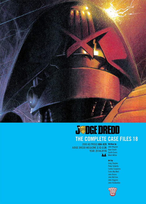 JUDGE DREDD COMPLETE CASE FILES TP VOL 18