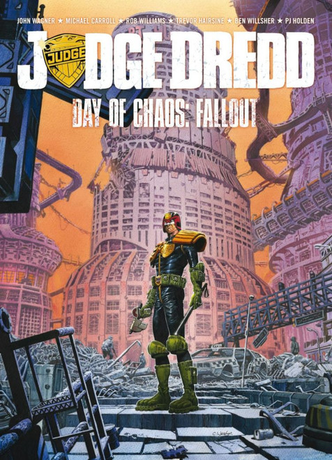 JUDGE DREDD DAY OF CHAOS FALLOUT TP