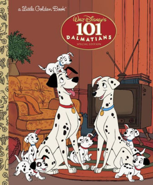 101 DALMATIANS LITTLE GOLDEN BOOK