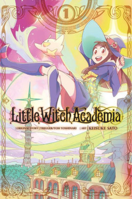 LITTLE WITCH ACADEMIA VOL 01