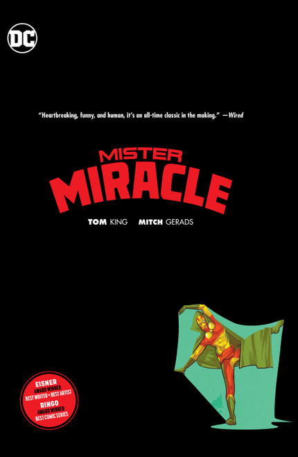 MISTER MIRACLE HC BOOKPLATE EDITION