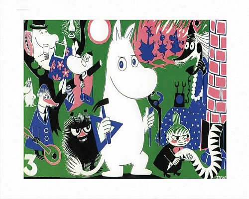 MOOMIN COMIC COVER 3 PRINT BY TOVE JANSSON
