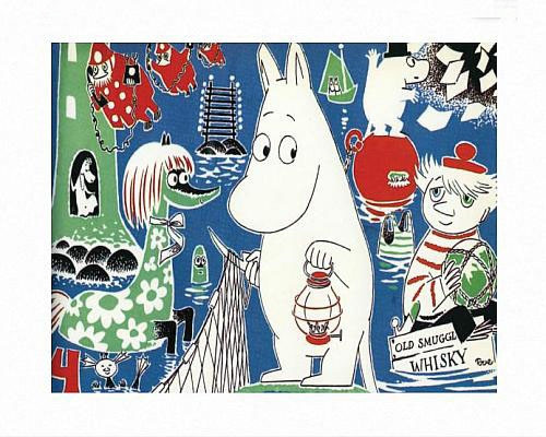 MOOMIN COMIC COVER 4 PRINT BY TOVE JANSSON