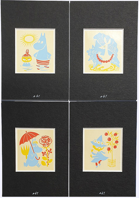 MOOMIN MINI PRINT SET BY TOVE JANSSON