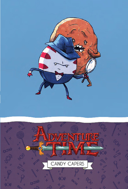 ADVENTURE TIME CANDY CAPERS MATHEMATICAL EDITION HC