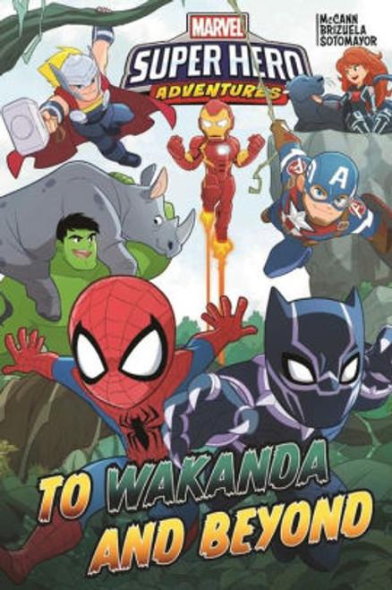 MARVEL SUPER HERO ADVENTURES WAKANDA AND BEYOND TP