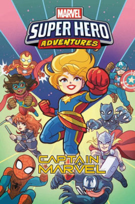 MARVEL SUPER HERO ADVENTURES CAPTAIN MARVEL TP