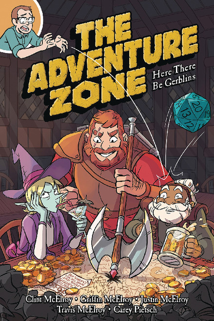ADVENTURE ZONE VOL 01 SC